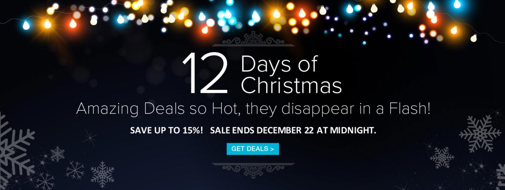 12 days of xmas sale