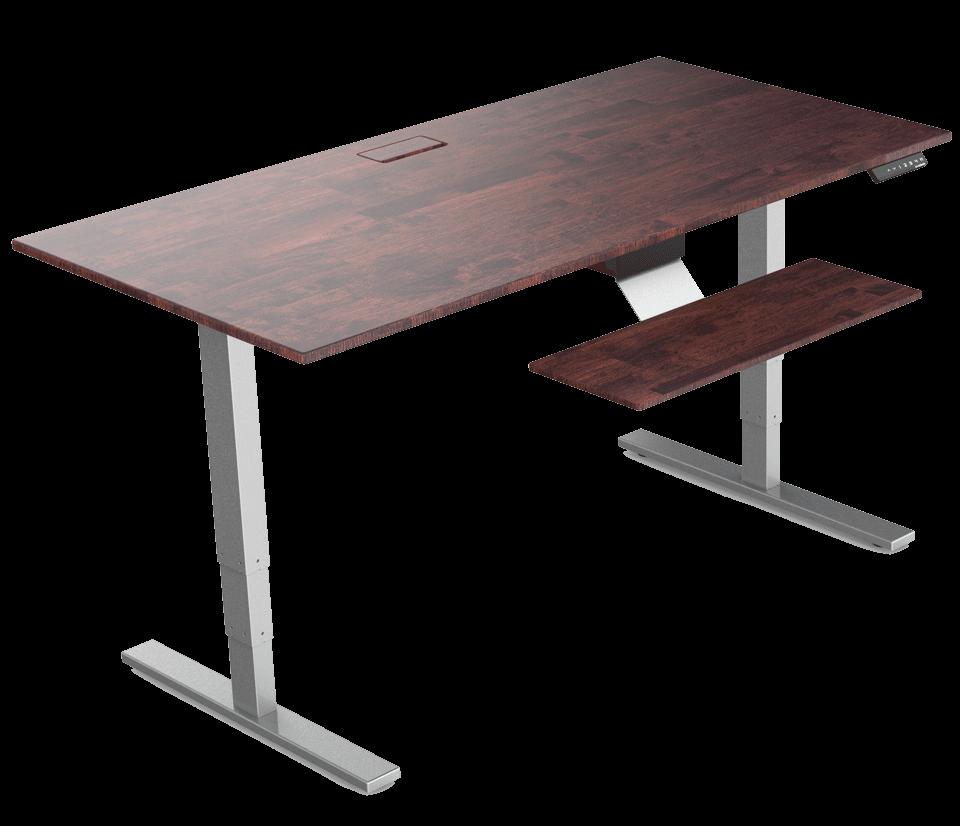 two fancierstudio computer height dp wide desk rd raising kitchen fits work com standing amazon max monitor blk stand extra riser